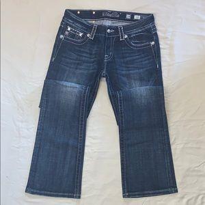 Miss Me Jeans JP5395B Boot Cut Distressed Jeans 28